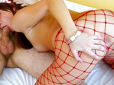 Molten underwear pornography with a sex-positive nubile gf